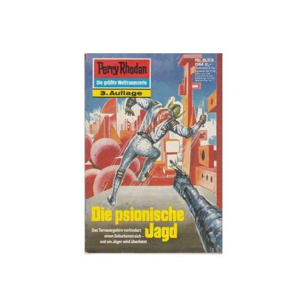 Moewig Perry Rhodan 3. Auflage Nr.: 633 - Mahr, Kurt: Die psionische Jagd Z(1-2)
