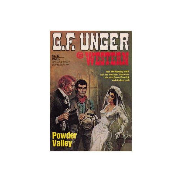 Zauberkreis G.F. Unger Western Nr.: 37 - Unger, G.F.: Powder Valley Z(1-2)