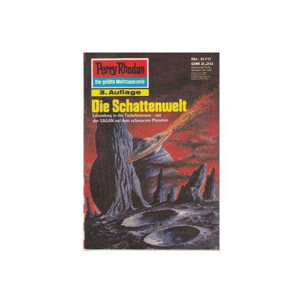 Moewig Perry Rhodan 3. Auflage Nr.: 872 - Kneifel, Hans: Die Schattenwelt Z(1-2)