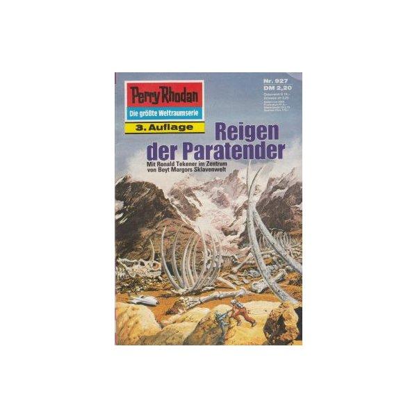 Moewig Perry Rhodan 3. Auflage Nr.: 927 - Kneifel, Hans: Reigen der Para-Tender Z(1-2)