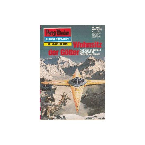 Moewig Perry Rhodan 3. Auflage Nr.: 948 - Francis, H. G.: Wohnsitz der Götter Z(1-2)