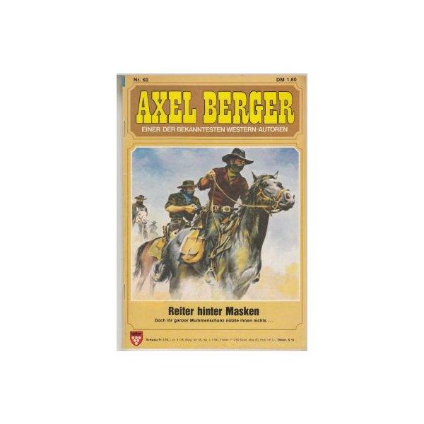 Kelter Axel Berger Nr.: 60 - Berger, Axel: Reiter hinter Masken Z(1-2)