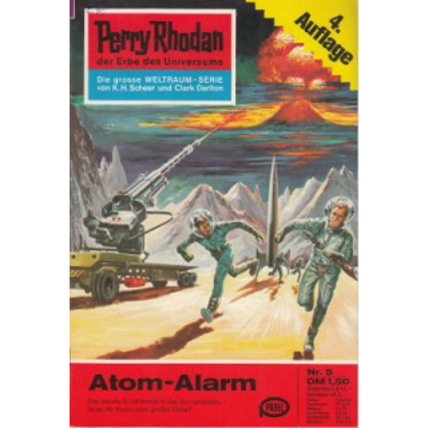 Moewig Perry Rhodan 4. Auflage Nr.: 5 - Mahr, Kurt: Atom-Alarm Z(1-2)
