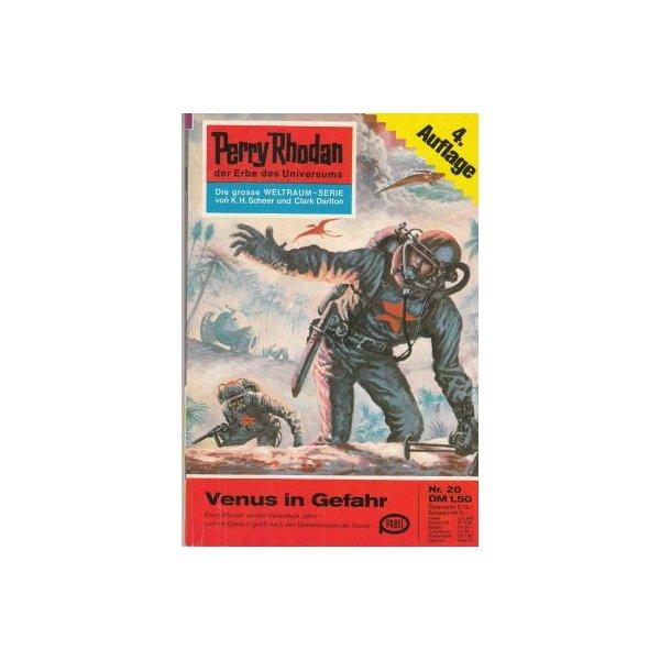 Moewig Perry Rhodan 4. Auflage Nr.: 20 - Mahr, Kurt: Venus in Gefahr Z(1-2)