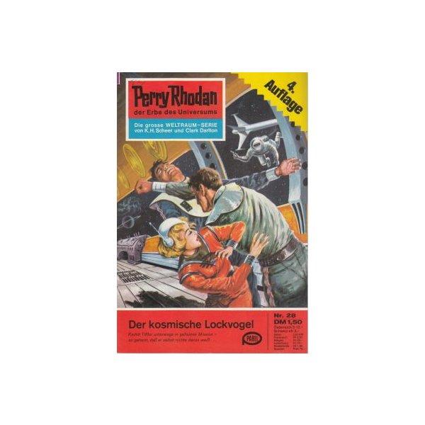 Moewig Perry Rhodan 4. Auflage Nr.: 28 - Scheer, K. H.: Der kosmische Lockvogel Z(1-2)