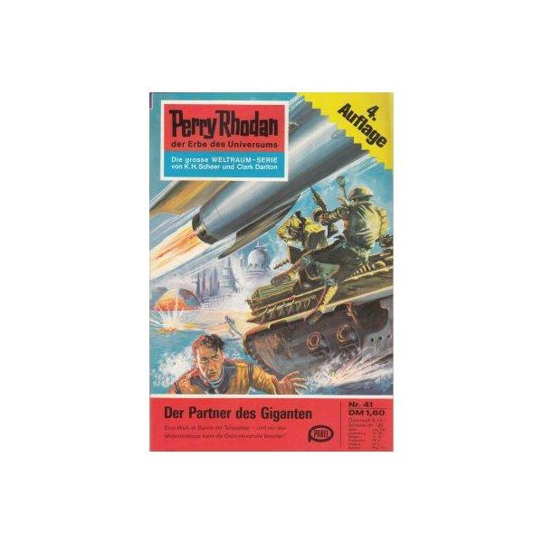 Moewig Perry Rhodan 4. Auflage Nr.: 41 - Darlton, Clark: Der Partner des Giganten Z(1-2)