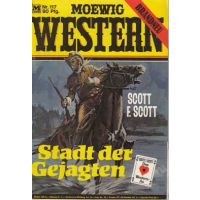 Moewig Moewig Western Nr.: 117 - Scott, F. Scott: Stadt der Gejagten Z(1-2)