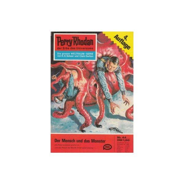 Moewig Perry Rhodan 4. Auflage Nr.: 44 - Scheer, K. H.: Der Mensch und das Monster Z(1-2)
