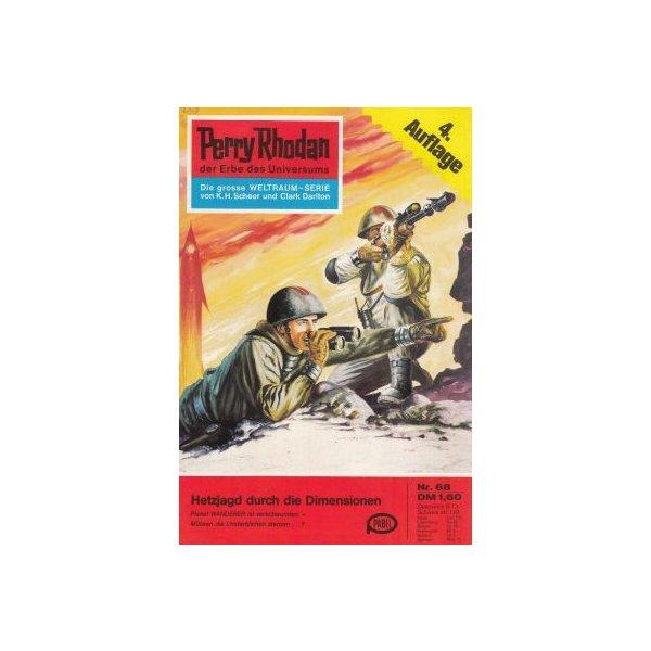 Moewig Perry Rhodan 4. Auflage Nr.: 68 - Mahr, Kurt: Hetzjagd durch die Dimensionen Z(1-2)