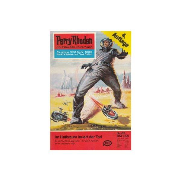 Moewig Perry Rhodan 4. Auflage Nr.: 69 - Mahr, Kurt: Im Halbraum lauert der Tod Z(1-2)
