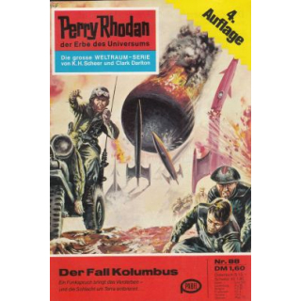 Moewig Perry Rhodan 4. Auflage Nr.: 88 - Scheer, K. H.: Der Fall Kolumbus Z(1-2)