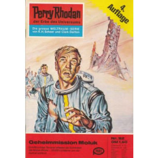 Moewig Perry Rhodan 4. Auflage Nr.: 92 - Voltz, William: Geheimmission Moluk Z(1-2)