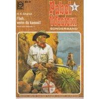 Pabel Western Sonderband Nr.: 7 - Sharon, H.S.: Flieh, wenn du kannst! Z(1-2)