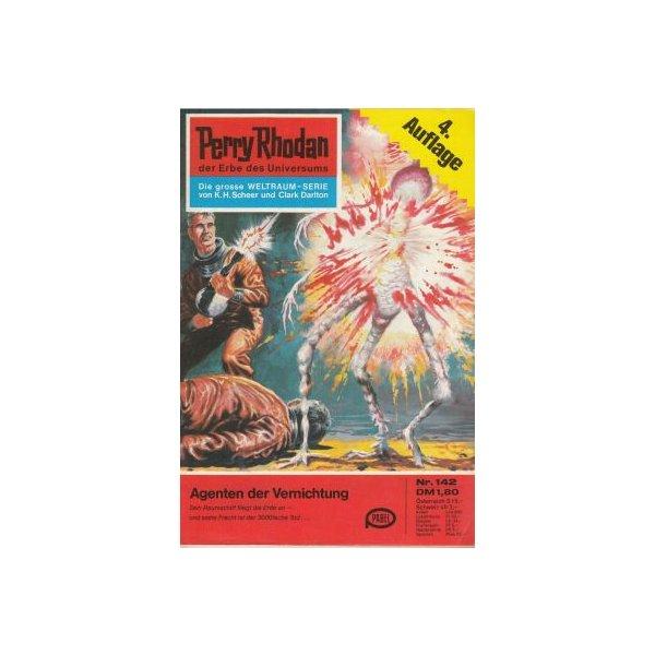 Moewig Perry Rhodan 4. Auflage Nr.: 142 - Brand, Kurt: Agenten der Vernichtung Z(1-2)