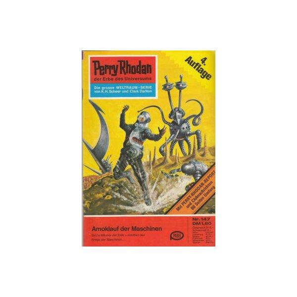 Moewig Perry Rhodan 4. Auflage Nr.: 147 - Voltz, William: Amoklauf der Maschinen Z(1-2)
