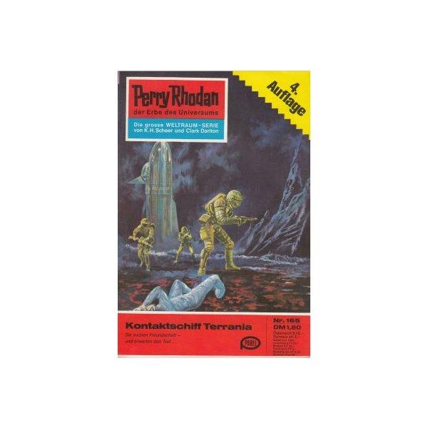 Moewig Perry Rhodan 4. Auflage Nr.: 165 - Brand, Kurt: Kontaktschiff Terrania Z(1-2)