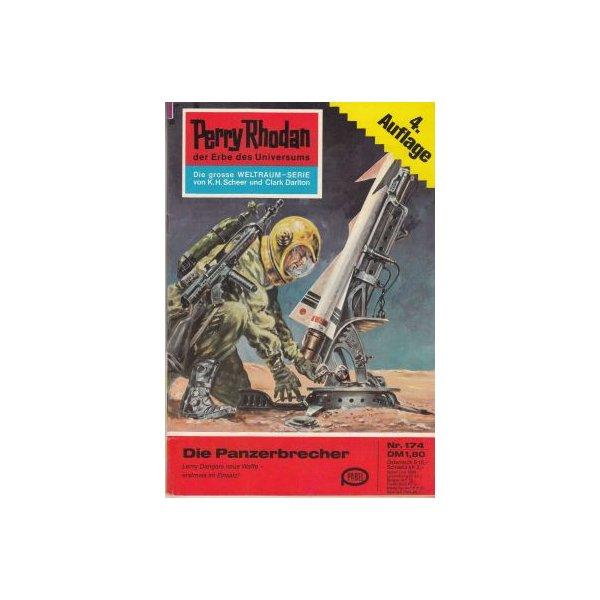 Moewig Perry Rhodan 4. Auflage Nr.: 174 - Voltz, William: Die Panzerbrecher Z(1-2)