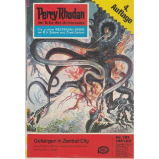 Moewig Perry Rhodan 4. Auflage Nr.: 181 - Voltz, William: Gefangen in Zentral-City Z(1-2)