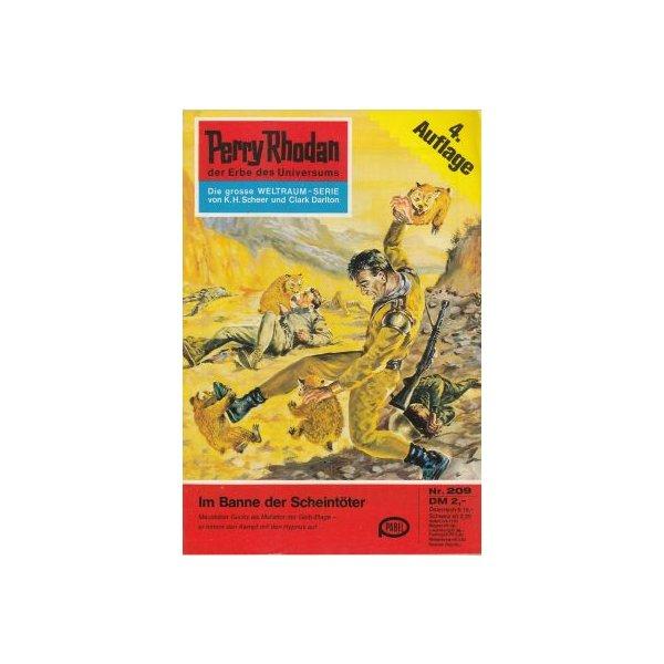 Moewig Perry Rhodan 4. Auflage Nr.: 209 - Darlton, Clark: Im Banne der Scheintöter Z(1-2)