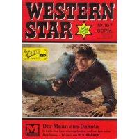 Moewig Western Star Nr.: 167 - Sharon, H. S.: Der Mann aus Dakota Z(1-2)
