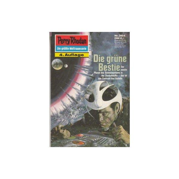 Moewig Perry Rhodan 4. Auflage Nr.: 364 - Ewers, H. G.: Die grüne Bestie Z(1-2)