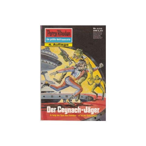 Moewig Perry Rhodan 4. Auflage Nr.: 628 - Voltz, William: Der Ceynach-Jäger Z(1-2)