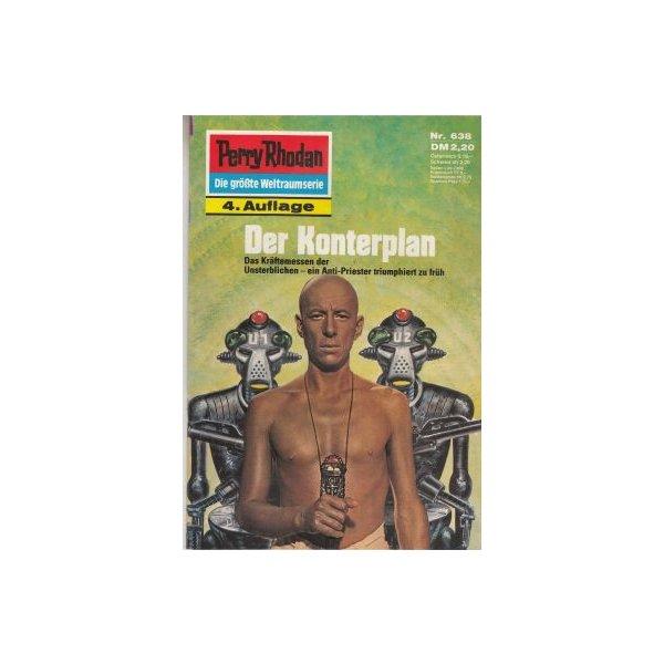Moewig Perry Rhodan 4. Auflage Nr.: 638 - Vlcek, Ernst: Der Konterplan Z(1-2)
