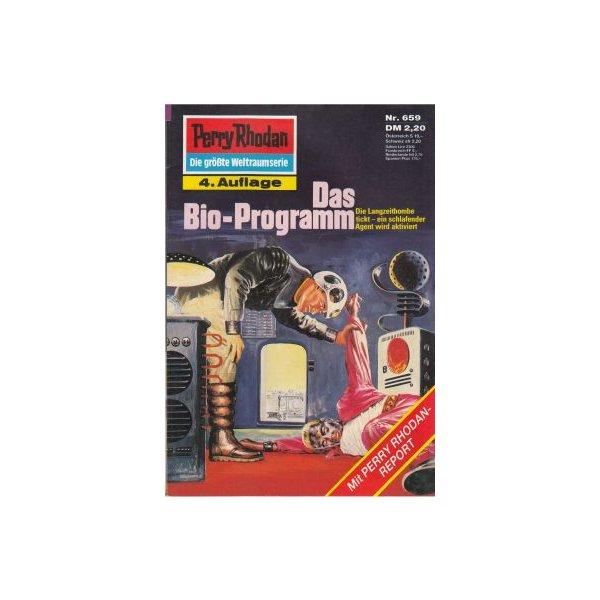 Moewig Perry Rhodan 4. Auflage Nr.: 659 - Francis, H. G.: Das Bio-Programm Z(1-2)