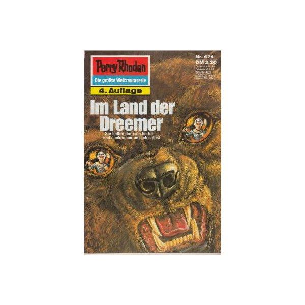 Moewig Perry Rhodan 4. Auflage Nr.: 674 - Francis, H. G.: Im Land der Dreemer Z(1-2)