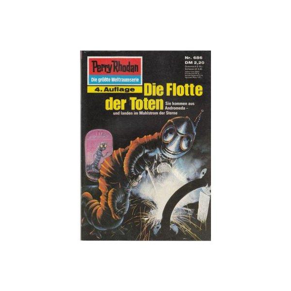 Moewig Perry Rhodan 4. Auflage Nr.: 686 - Voltz, William: Die Flotte der Toten Z(1-2)