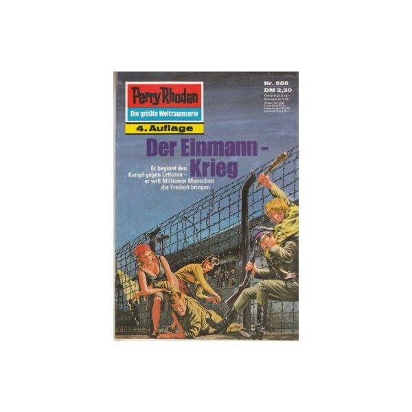 Moewig Perry Rhodan 4. Auflage Nr.: 688 - Francis, H. G.: Der Einmann-Krieg Z(1-2)