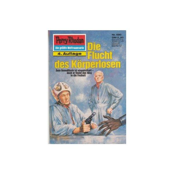 Moewig Perry Rhodan 4. Auflage Nr.: 690 - Mahr, Kurt: Die Flucht des Körperlosen Z(1-2)