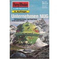 Moewig Perry Rhodan 4. Auflage Nr.: 737 - Vlcek, Ernst: Unternehmen NUG Z(1-2)