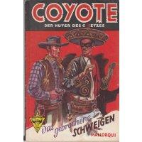 Verlag F. Petersen Coyote Nr.: 45 - Mallorqui, J.: Das gebrochene Schweigen Z(2)
