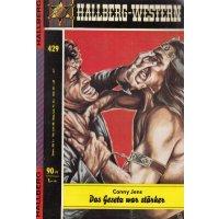 Hallberg Verlag Hallberg Western Nr.: 429 - Jens, Conny: Das Gesetz war stärker Z(1-2)