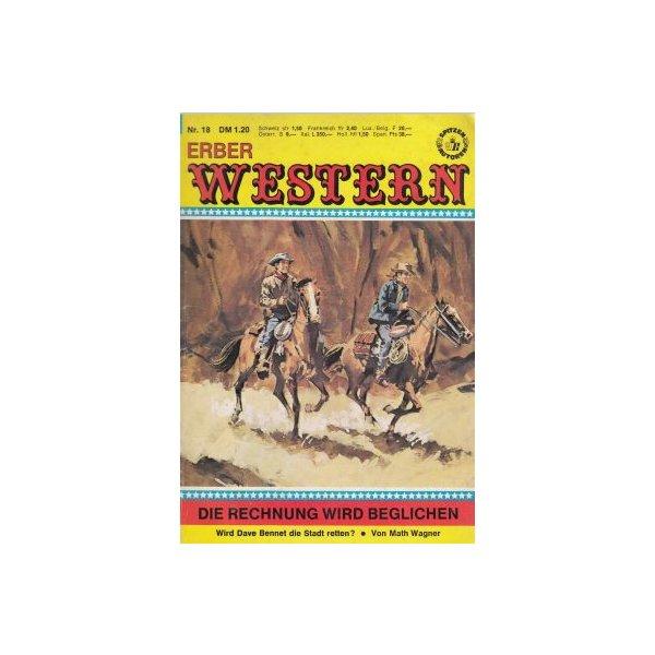 Anne Erber Verlag Erber Western Nr.: 18 - Wagner, Math: Die Rechnung wird beglichen Z(2)