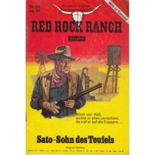 Marken Red Rock Ranch Nr.: 59 - O´Connor, Will: Sato - Sohn des Teufels Z(1-2)